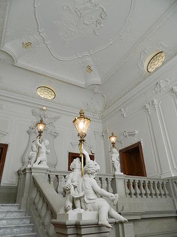 Die Englische Treppe im Dresdner Residenzschloss