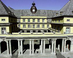 Здание штаб-квартиры компании в Мюнхене. Munich Re - крупнейшее перестраховочное общество