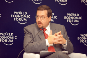 English: Mario Anseloni - 'World Economic Foru...
