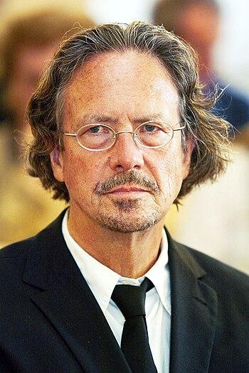 Deutsch: Peter Handke, deutscher Schriftsteller