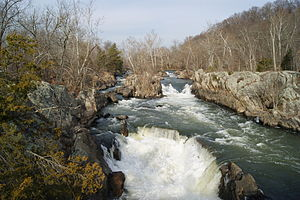 English: Great Falls of the Potomac River