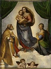 Sistine Madonna 1513-14