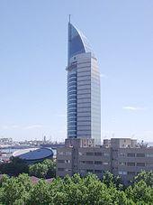 Torre de las Telecomunicaciones, Montevideo.