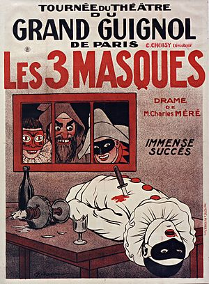 Tournee du Theatre du Grand Guignol de Paris -...