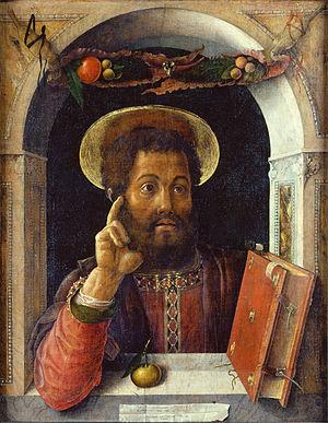 Mantegna's St. Mark.