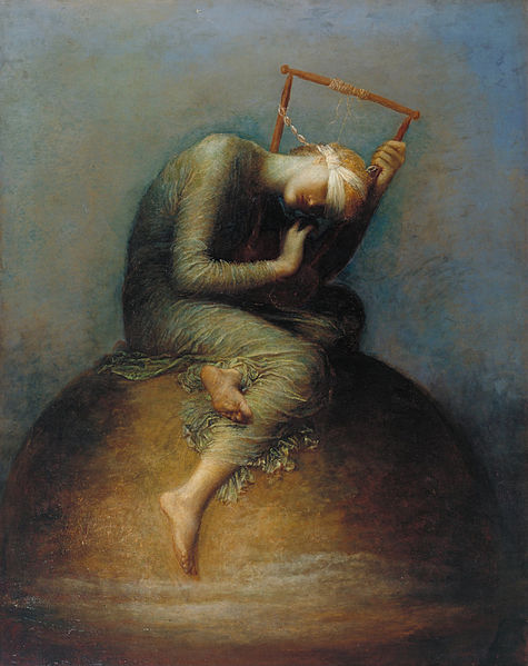 Bestand:Assistants and George Frederic Watts - Hope - Google Art Project.jpg