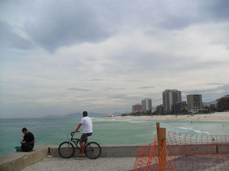 Barra da Tijuca Beach, Vista a partir do píer da Barra.JPG
