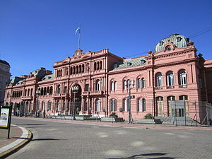 English: Casa Rosada, President Palace in Buen...