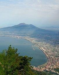 Castellammare di Stabia, the Gulf of Napels an...
