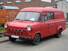 Ford Transit Mk1 (Mk2 Germany)