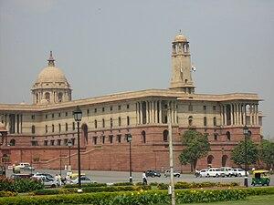 Indian Parliament Building Delhi India