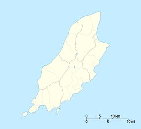 マン島の位置(マン島内)