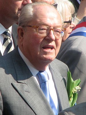 Jean-Marie Le Pen, French politician)