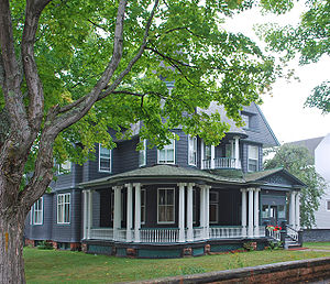 English: Laurium Historic District Laurium MI