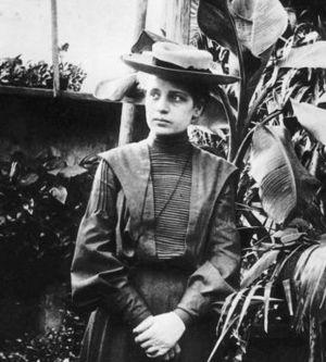Lise Meitner around 1900