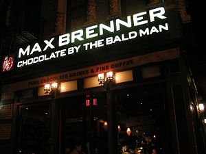 English: Max Brenner Polski: Max Brenner