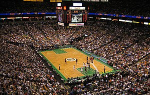 Photo of game between Boston Celtics and Miami...