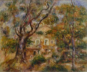 Pierre-Auguste Renoir - La Ferme des Collettes