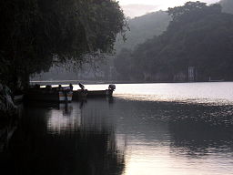 Image of the Cagayan river in the Philippines, one fine day