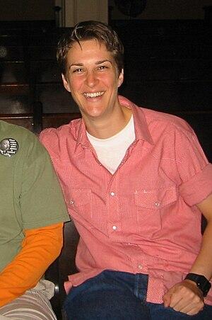 American radio host Rachel Maddow.