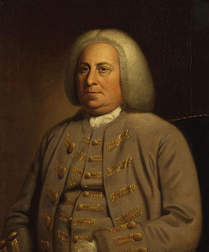 Virginia colonial governor Robert Dinwiddie, b...