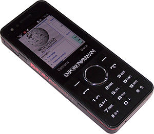 Samsung M7500 Night Effect mobile phone