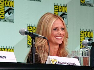 Sarah Michelle Gellar at San Diego Comic-Con 2...