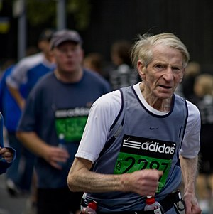 English: 2007 Dublin City Marathon (Ireland) 中...