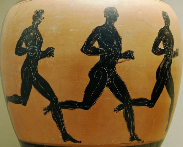 did Christians ban the ancient Olympics?