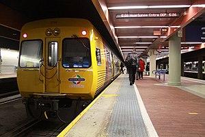 TransAdelaide 3000 class railcar at Adelaide R...