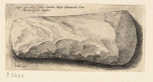 Wenceslas Hollar - Flint axe-head