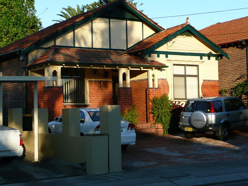 Inter-War (Californian) Bungalow, Shaftsbury Road, Burwood