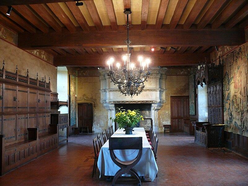 Château de Langeais - Salle du banquet