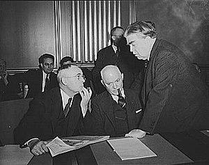 War Labor Board anthracite hearing. John L. Le...