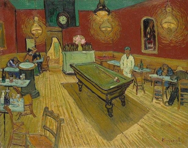 Le café de nuit (The Night Café) by Vincent van Gogh