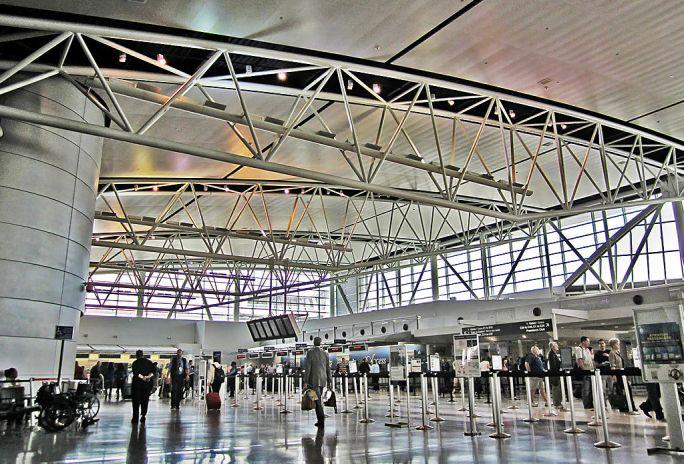 Terminal E Waiting area