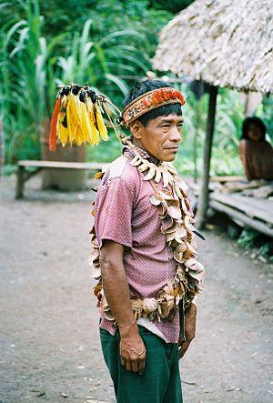 Urarina shaman, 1988