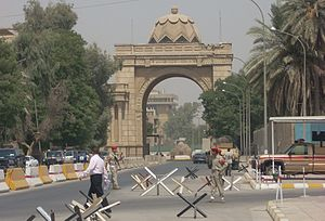 Assassin's Gate, Baghdad's Green Zone