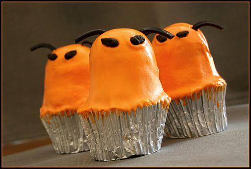 Cupcake aliens