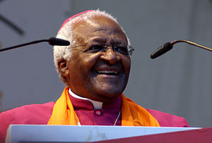 Desmond Tutu 2007 at the Deutscher Evangelisch...