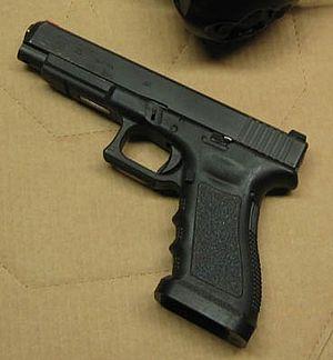 Glock 35 semiautomatic pistol in .40 S&W