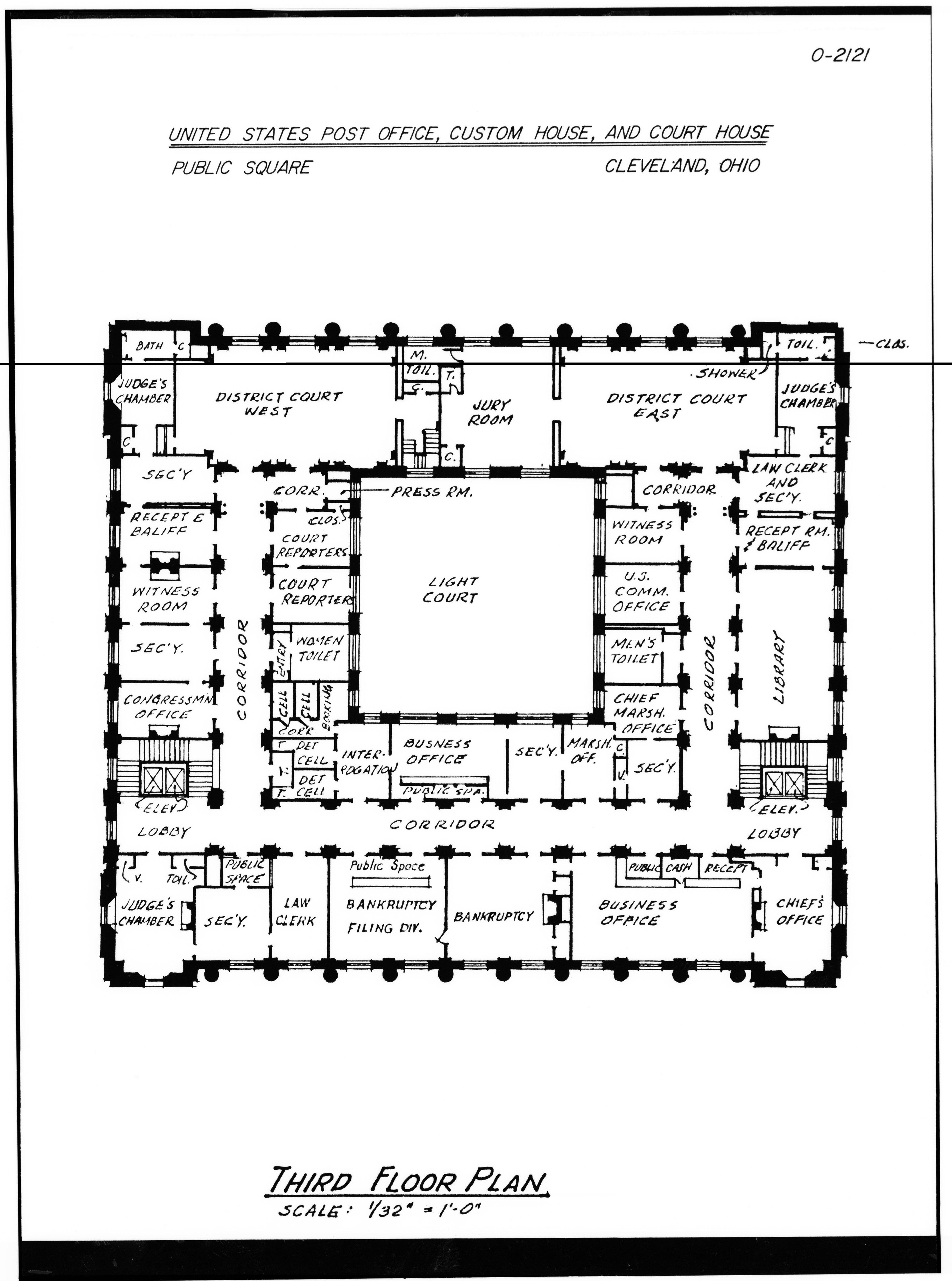 File Historic American Buildings Survey Third Floor Plan