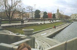 Jekaterinburg apud centro