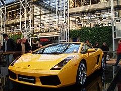 Lamborghini Gallardo, actual modelo pequeño de la marca.