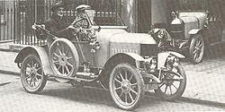 1913 Oxford bullnose