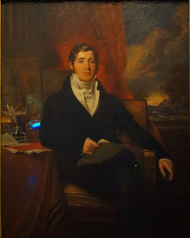 National Museum of Singapore - Joy of Museums - Portrait of Sir Thomas Stamford Bingley Raffles