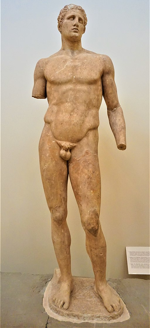Statue of Agias of Pharsala - Delphi Archaeological Museum by Joy of Museums
