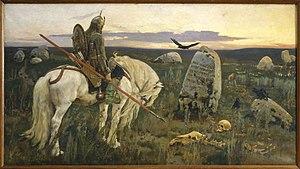 Viktor Vasnetsov: A Knight at the Crossroads (...