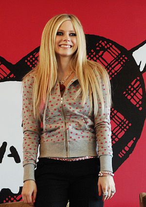 Avril Lavigne In Hong Kong 2007 Press Conf.