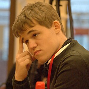 English: Magnus Carlsen
